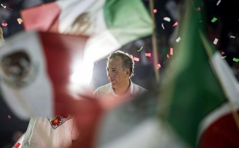 José Antonio Meade, abanderado del PRI, obtuvo el tercer lugar en las elecciones presidenciales del 1 de julio