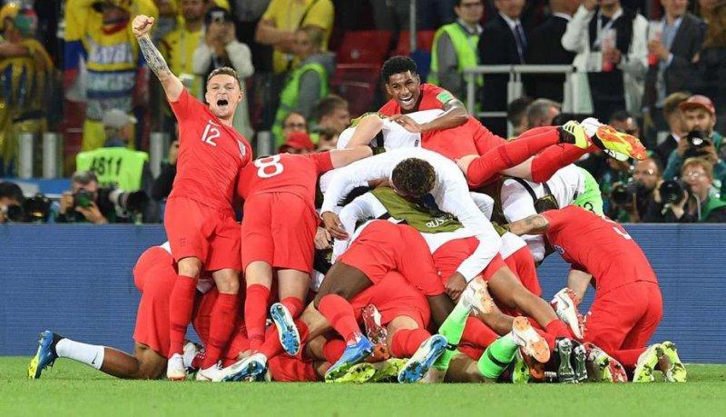 Inglaterra elimina a Colombia de la Copa Mundial de Futbol 2018