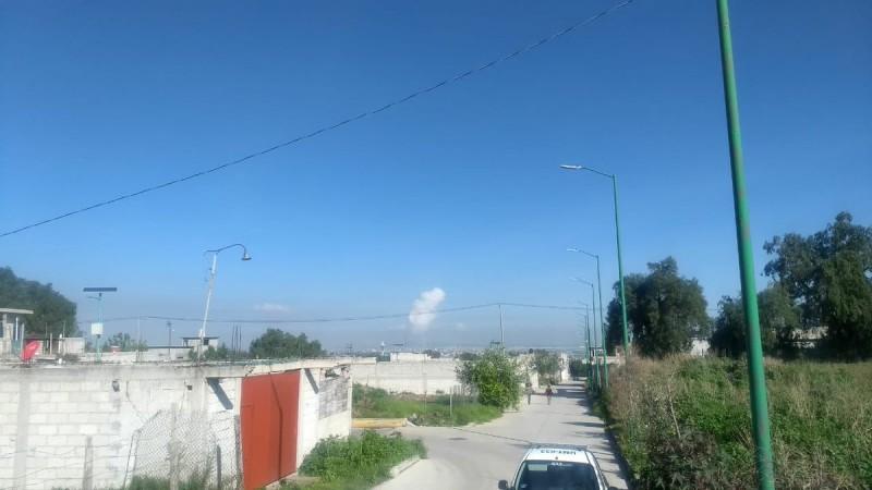 Registran explosión en La Saucera, Tultepec Foto: @pciviledomex