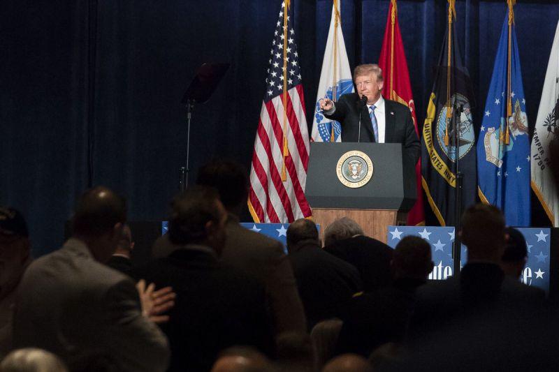 Presidente de Estados Unidos Donald Trump Foto: Twitter Donald Trump @realdonaldtrump