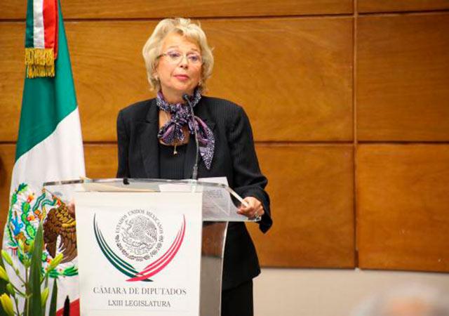 ¿Qué ideales defiende Olga Sánchez Cordero? (Foto: Cámara de Diputados)