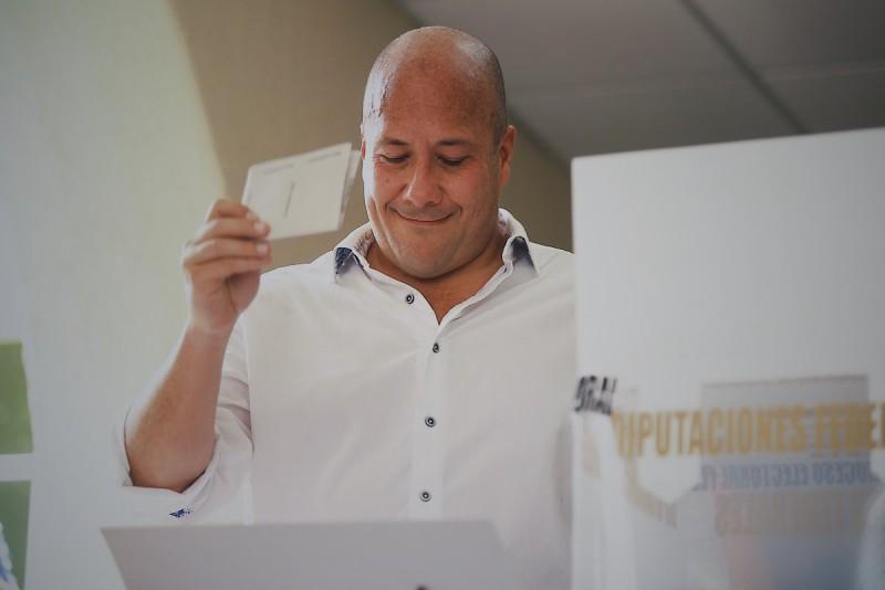 Candidato a gobernador Enrique Alfaro. Foto: Twitter Enrique Alfaro @EnriqueAlfaroR