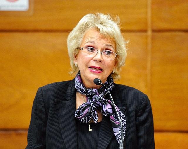 La exministra Olga Sánchez Cordero será la secretaria de Gobernación. Foto: Cámara de Diputados.