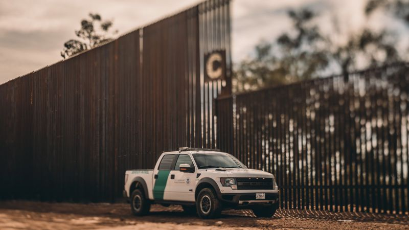 Muro fronterizo Foto: Twitter Donald Trump @realDonaldTrump