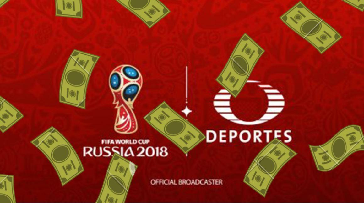 El total de ventas por segmento del segundo trimestre de 2018 de Televisa triplicó lo facturado en el periodo de Alemania 2006.