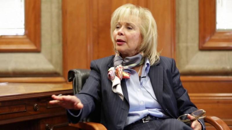 Olga Sánchez Cordero es ex ministra de la Suprema Corte y próxima secretaria de Gobernación.
