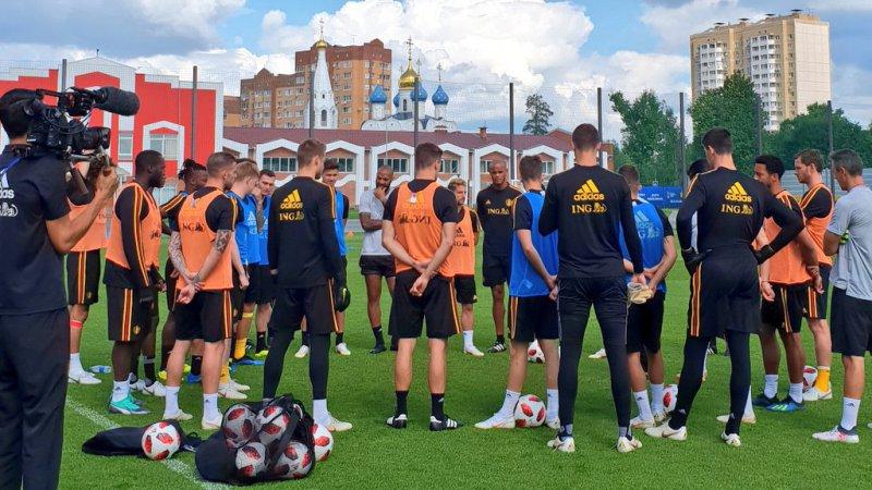 Bélgica vs Inglaterra Mundial Rusia 2018 Foto: Twitter selección de Bélgica @BelRedDevils