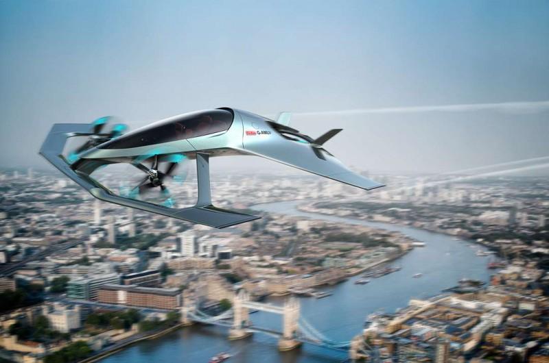 Aston Martin saca diseño para nuevo vehículo aéreo, Volante Vision Concept.
