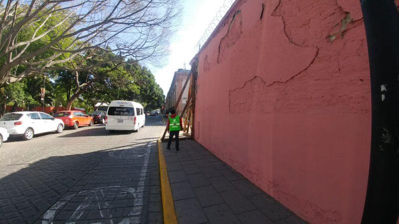 Autoridades de Protección Civil de Oaxaca en revisión luego de sismo de 5.9 grados Foto: Twitter Protección Civil Oaxaca @CEPCO_GobOax