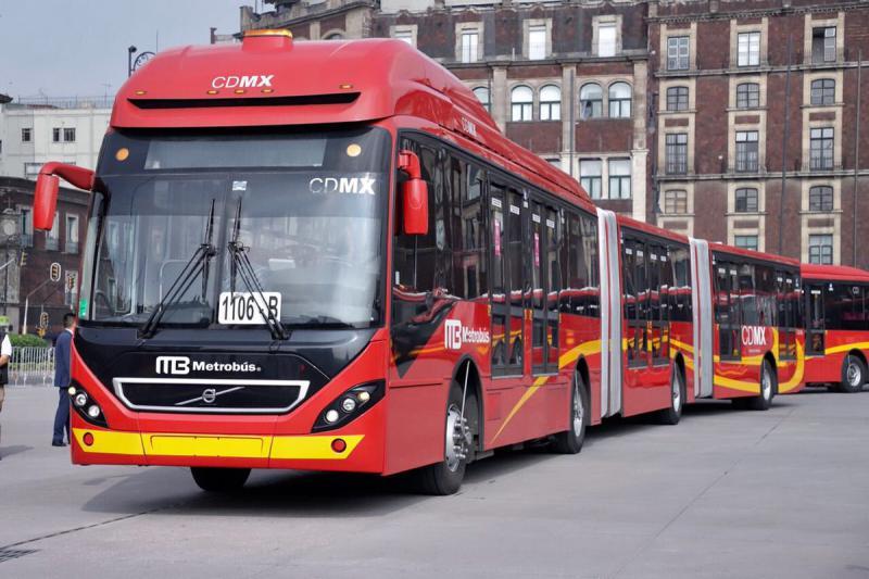 Metrobús de la Ciudad de México Foto: Twitter Metrobús CDMX @MetrobusCDMX