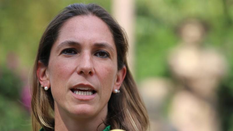 Mariana Boy es excandidata a la Gobernatura de la Ciudad de México por parte del Partido Verde Ecologista de México.
