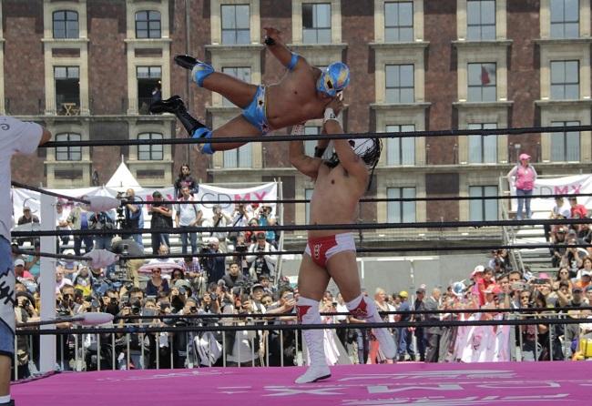 La lucha libre se declaró como Patrimonio Cultural de la CDMX