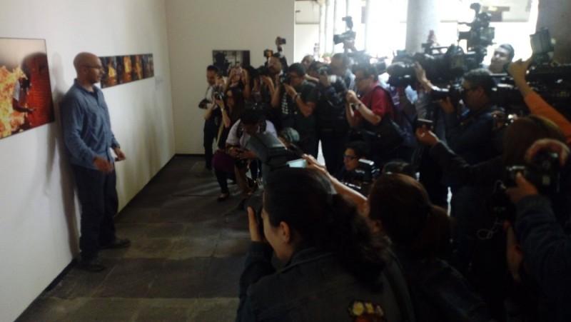 Presentación del World Press Photo 2018 Foto: Twitter Museo Franz Mayer @el_mayer