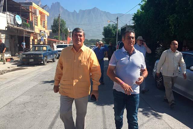 ¿Será García otro caso de crecimiento descontrolado como sucedió en Pesquería? (Fuente: Twitter)