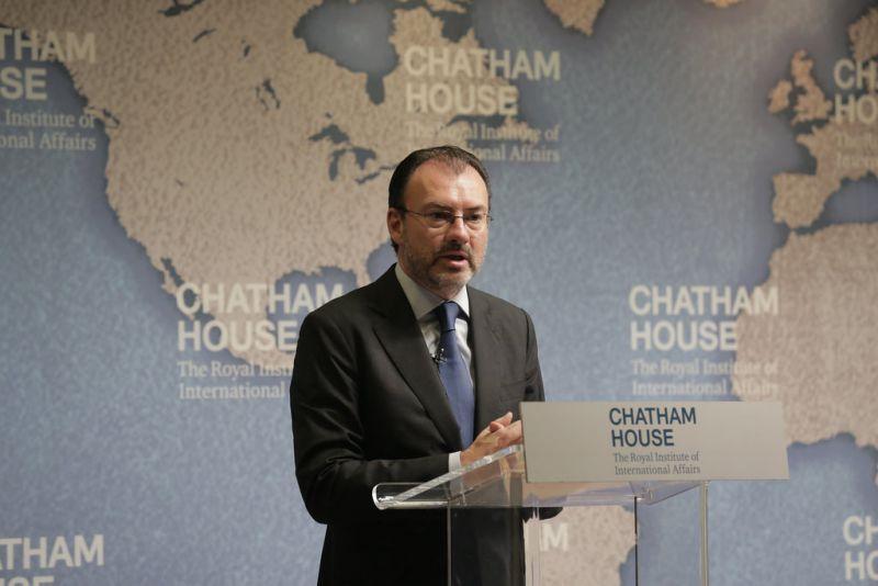Secretario de Relaciones Exteriores, Luis Videgaray Foto: flickr.com