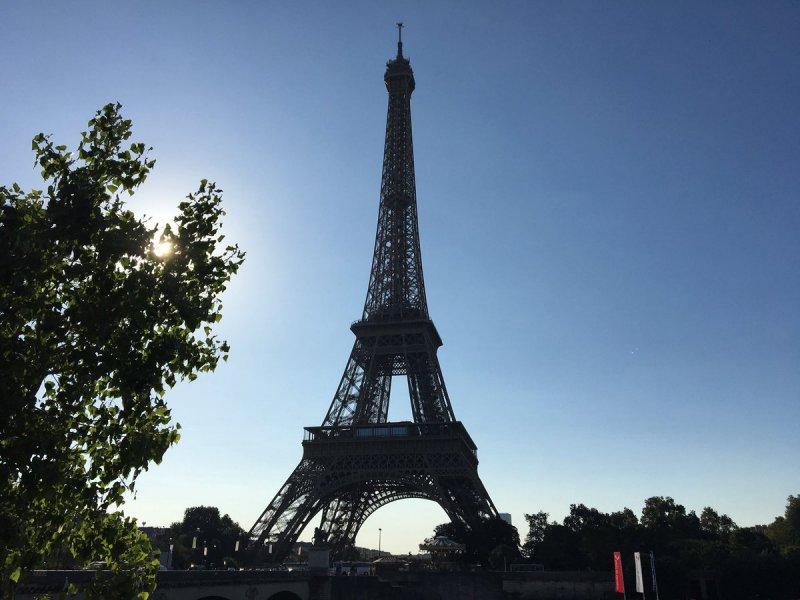 Torre Eiffel Foto: Twitter La Torre Eiffel @LaTourEiffel