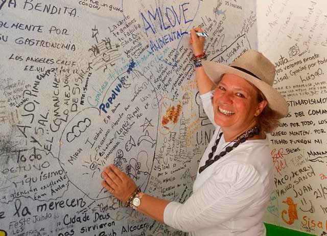 La experiencia de Josefa González Blanco va más enfocada en lo social y lo medioambiental (Fuente: Twitter)
