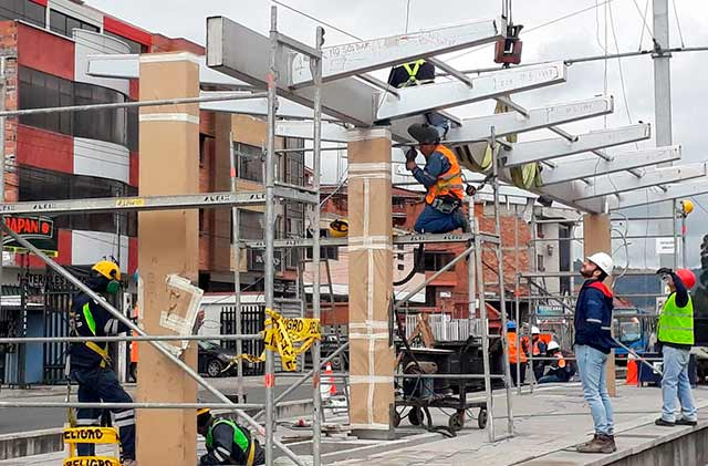 El componente de maquinaria y equipo, así como el de construcción, impulsaron la inversión total (Foto: Twitter)