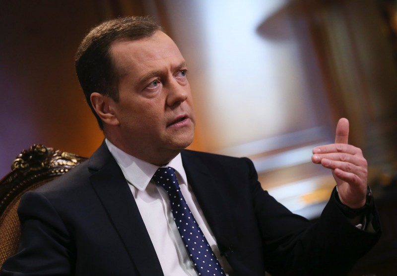Dimitri Medvedev, Primer Ministro de Rusia Foto: Twitter Dimitri Medvedev @MedvedevRussiaE