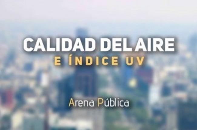 La calidad del aire en CDMX y Edomex, hoy sábado 11 de agosto de 2018.