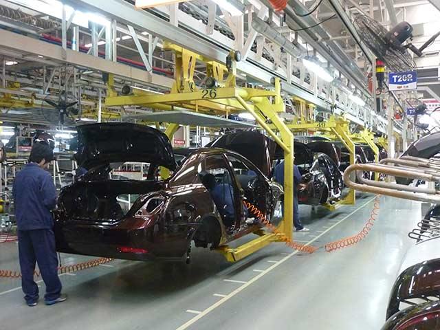 La producción industrial en EU tuvo un desempeño fuerte en la primera mitad del año, pero demuestra indicios de desaceleración en julio (Foto: Siyuwj)