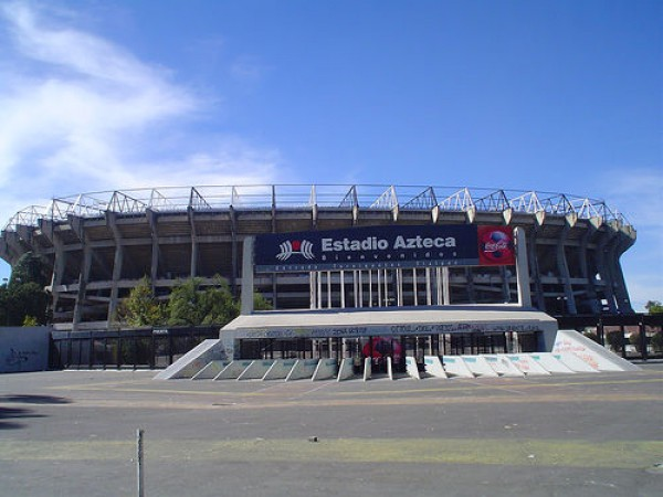 Estadio Azteca Foto: flickr.com