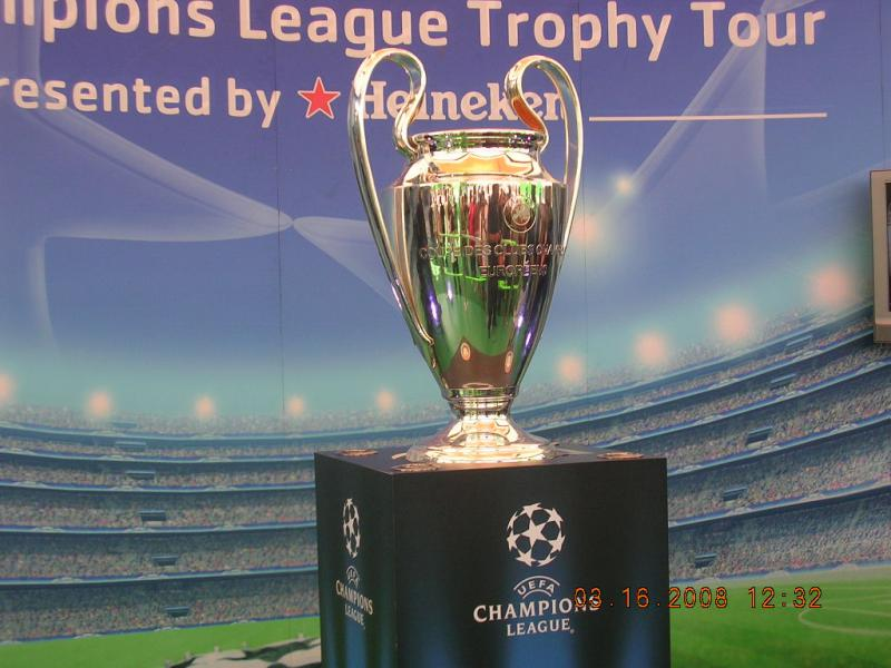 Trofeo de la UEFA Champions League Foto: flickr.com