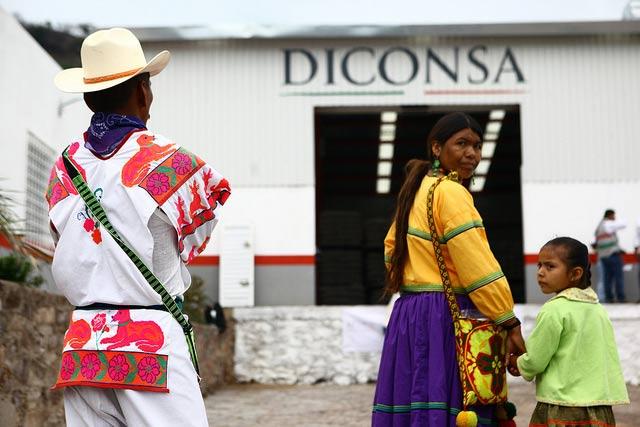 Diconsa ya ofrece una canasta básica de alimentos con un ahorro de casi el 20% con respecto al comercio privado. Foto: Diconsa.