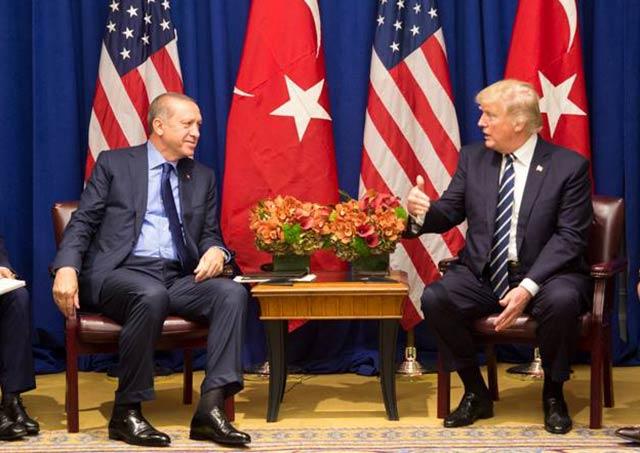 El presidente de Turquía también busca a un líder religioso ubicado en EU. Foto: The White House