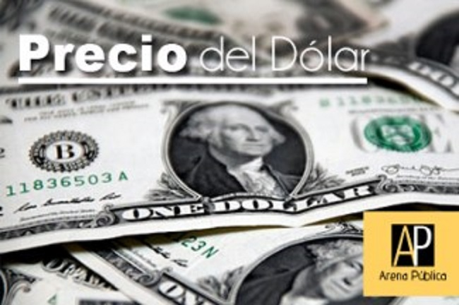 El precio dólar hoy lunes 27 de agosto de 2018.