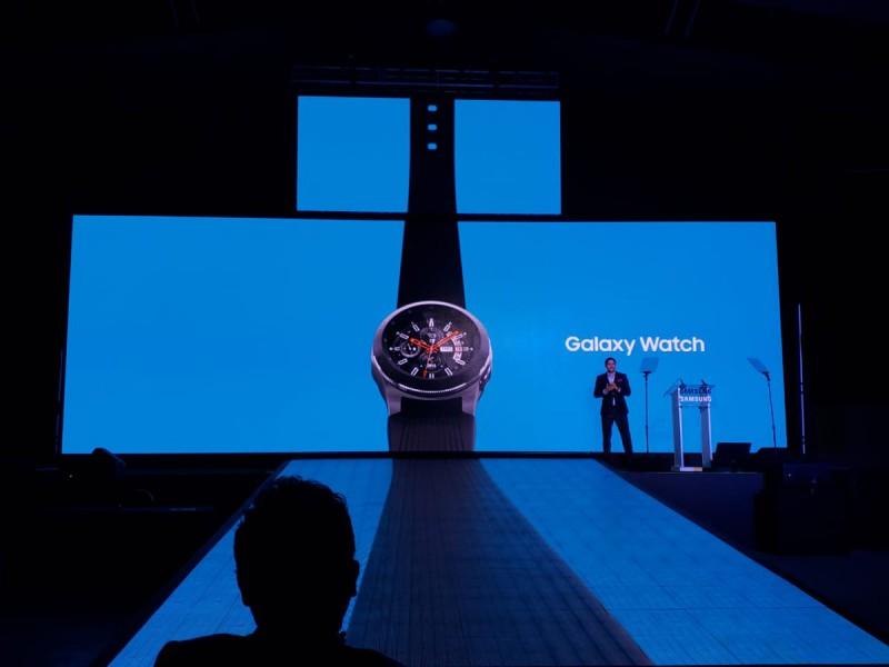 Presentación de Galaxy Watch en México. Foto: Twitter Samsung Mobile México  @samsungmobilemx