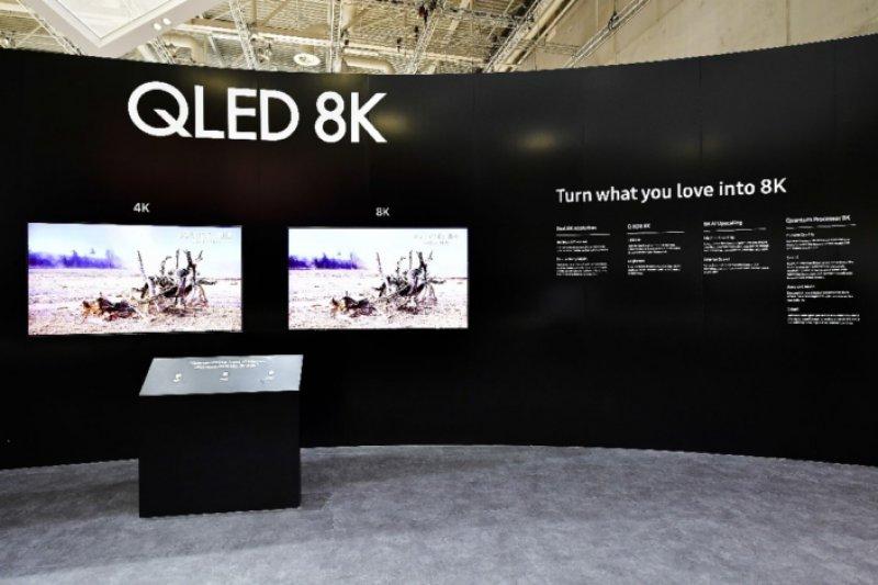 Presentación de Samsung del nuevo televisor QLED 8K en IFA 2018 Foto: Sitio oficial de Samsung news.samsung.com