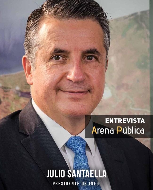 Julio Santaella Castell, presidente del Inegi (2016-2021)