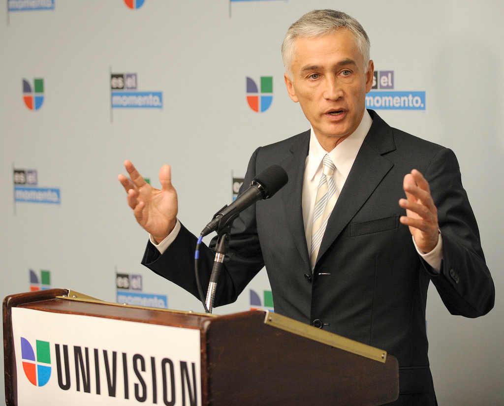 Jorge Ramos, periodista y presentador de noticias para Univision. Foto: NASA HQ PHOTO