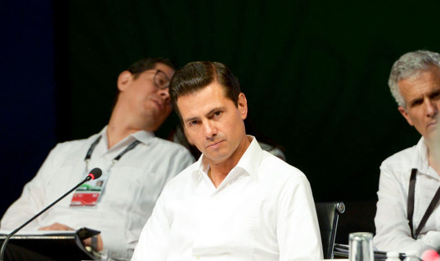 El gobierno de Peña Nieto entrega un país en un entorno de incertidumbre económica global. Foto: Enrique Peña Nieto.