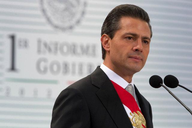 Los niveles de aprobación de la presidencia de Peña Nieto han caído incluso entre simpatizantes de su propio partido (Foto: Presidencia de la República)