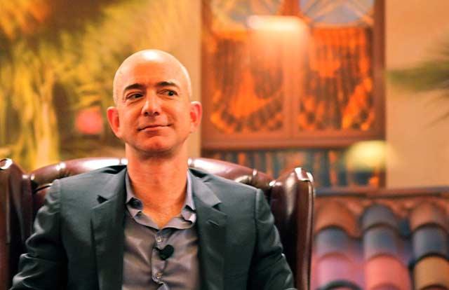Jeff Bezos es el accionista mayoritario de Amazon. Foto: Steve Jurvetson.