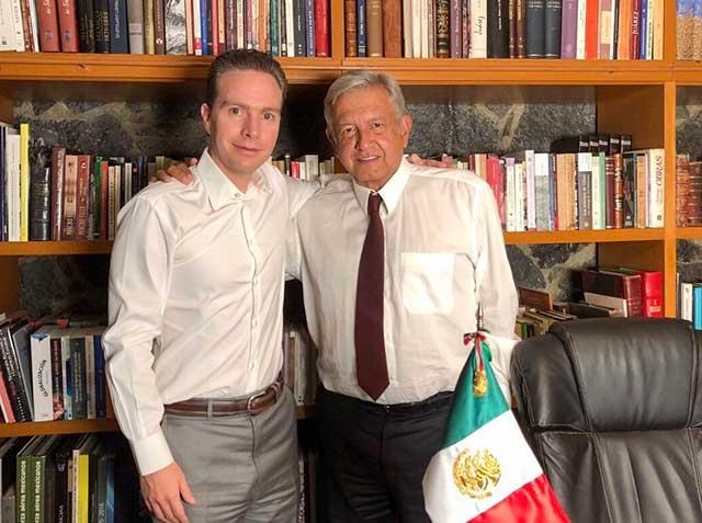 Manuel Velasco había adquirido licencia como gobernador de Chiapas para tomar protesta en el Senado (Foto: @VelascoM_)