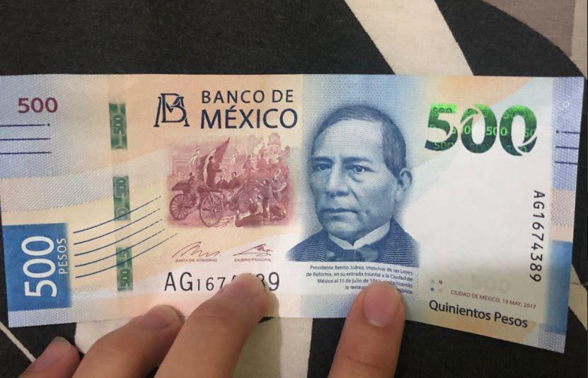 Cada billete tiene un costo promedio de 90 centavos. Foto: Twitter LFLBedolla