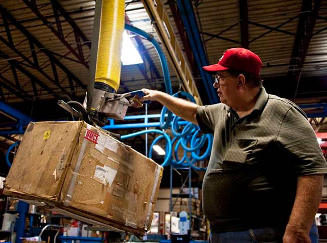 La actividad industrial registró una variación anual marginal en julio: 0.2% (Foto: Samuel King Jr.)
