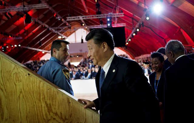 Presidente de China, Xi Jinping. Foto: Cop Paris