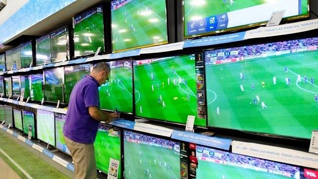 Una docena de empresas transnacionales producen 20 millones de televisores en México.