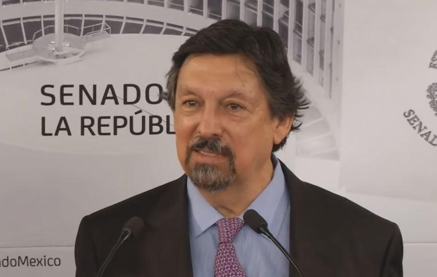 Napoleón Gómez Urrutia, senador de Morena y dirigente del Sindicato Minero, fue quien impulsó que se dictaminara este convenio.