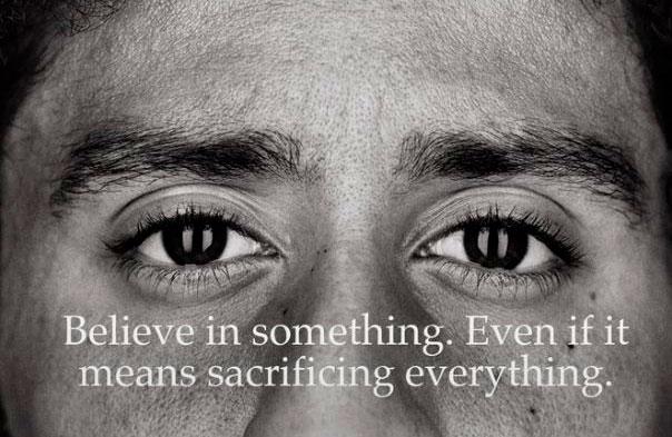 El efecto de Kapernick sobre Nike será conocido en diciembre de 2018.