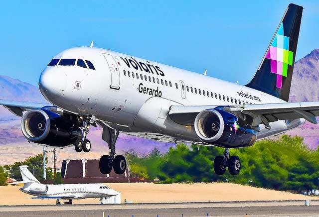El 80% de las rutas de Volaris desde Tijuana son nacionales. Foto:Tomás del Coro