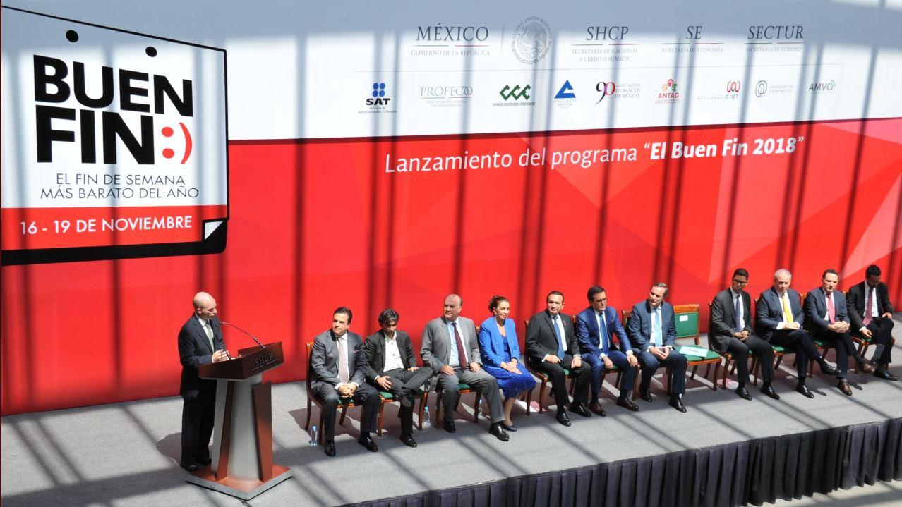 El Buen Fin se llevará a cabo del 16 al 19 de noviembre. Foto: Secretaría de Economía.