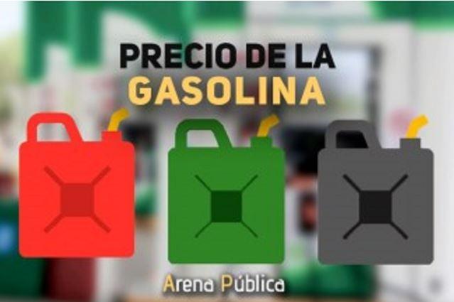 Precio de la gasolina en Mexico hoy miércoles 10 de octubre de 2018.