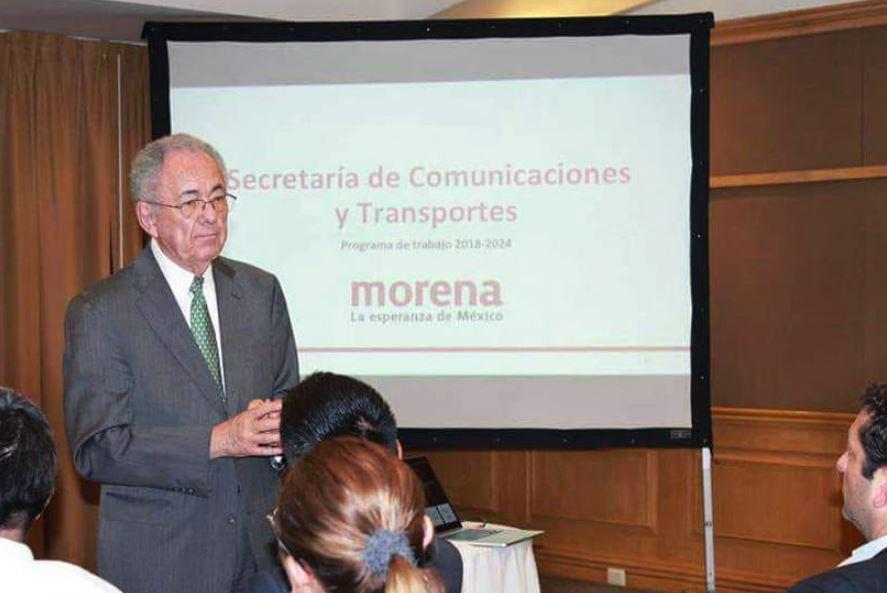 Jiménez Espriú, futuro secretario de Comunicaciones y Transporte.