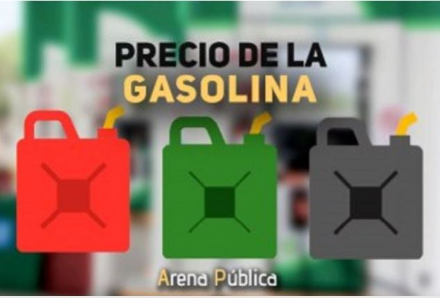 Precio de la gasolina en México hoy viernes 12 de octubre