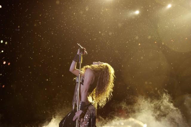 Shakira en el Estadio Azteca por